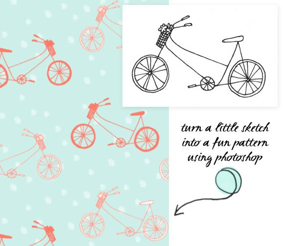 Creating Seamless Patterns withPhotoshop - Home - Creature Comforts - daily inspiration, style, diy projects + freebies