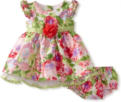 cute infant girl toddler and baby easter dresses