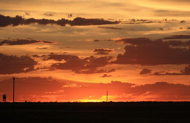 Sunset At Winton Qld Australia Queensland My Home