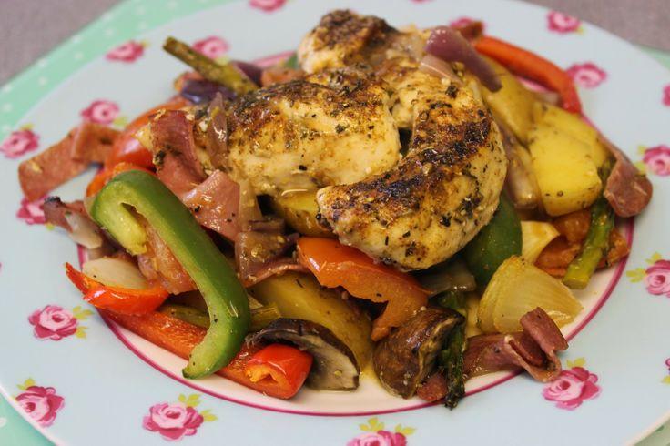 RECIPE | Spanish-style Chicken Bake | YUM | Pinterest