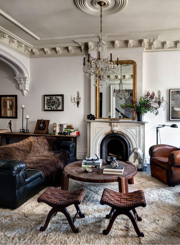 vintage eclectic living room decor pinterest. Black Bedroom Furniture Sets. Home Design Ideas