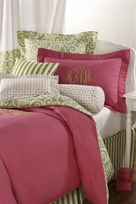 Gorgeous college and dorm bedding by American Made Dorm & Home