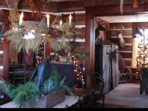 Primitive Christmas Home Tours