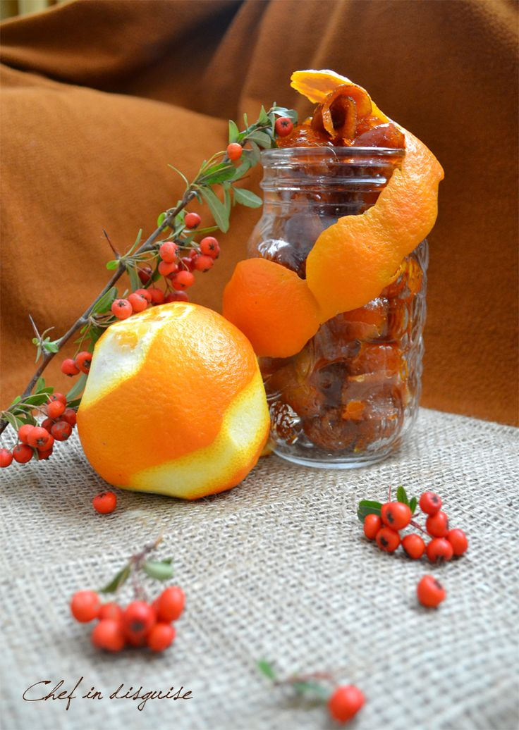 candied orange peel recipe | Recipes | Pinterest