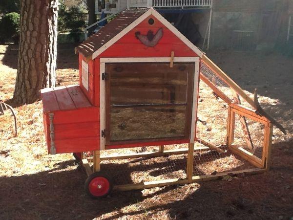 Cute Chicken Coop Garden Farm Life Pinterest