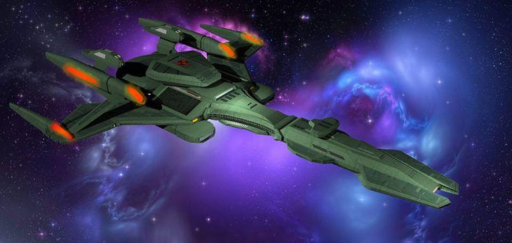 Klingon Battle Cruiser Concept | Sci-Fi and Fantasy Art | Pinterest Haines