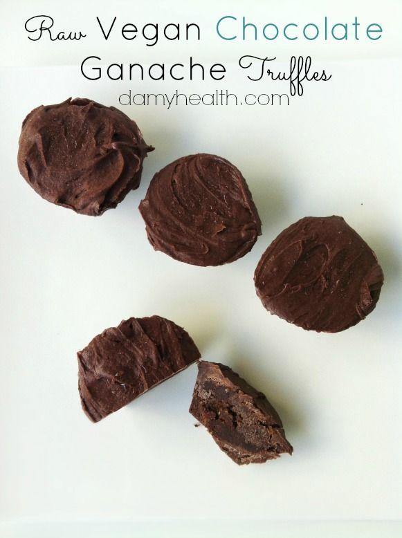 Chocolate Ganache Truffles #Raw #Vegan #vancouver PLUS 14 Awesome ...