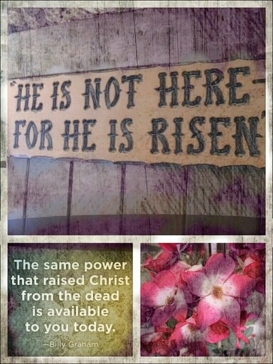 Death could not hold Him down! He is risen! His love has come His love has won!