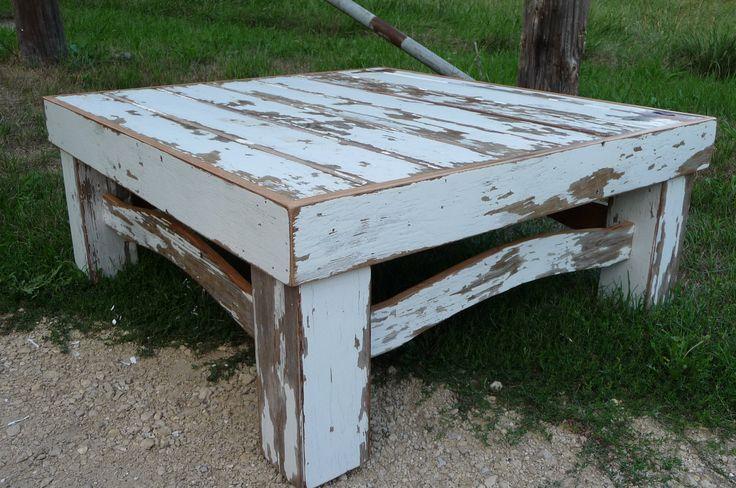 Reclaimed Barn Door Coffee Table Barn Wood Crafts Pinterest