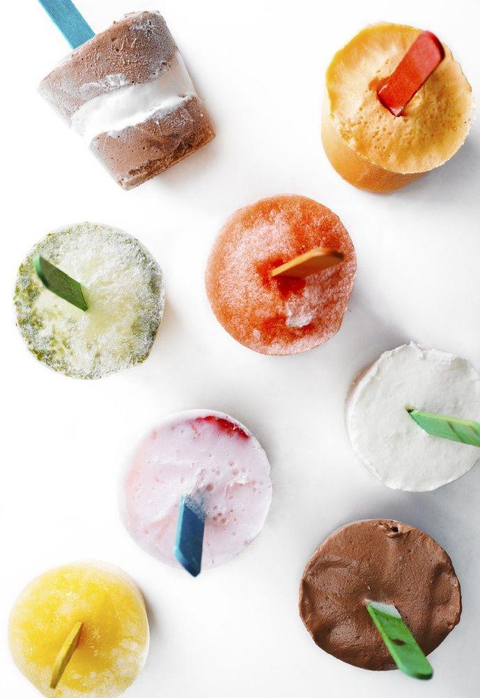 Strawberry Mojito Ice Pops! | Recipies: Cocktails | Pinterest