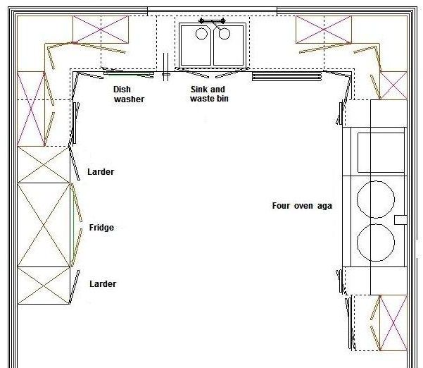 28+ [ Kitchen Templates For Floor Plans ] | Advanced Floor Plan