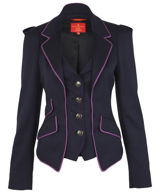 I'd prefer a different colour hem though, purple isn't my thing but GORGEOUS blazer.