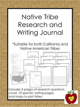 California Native Americans Writing and Activity Pack