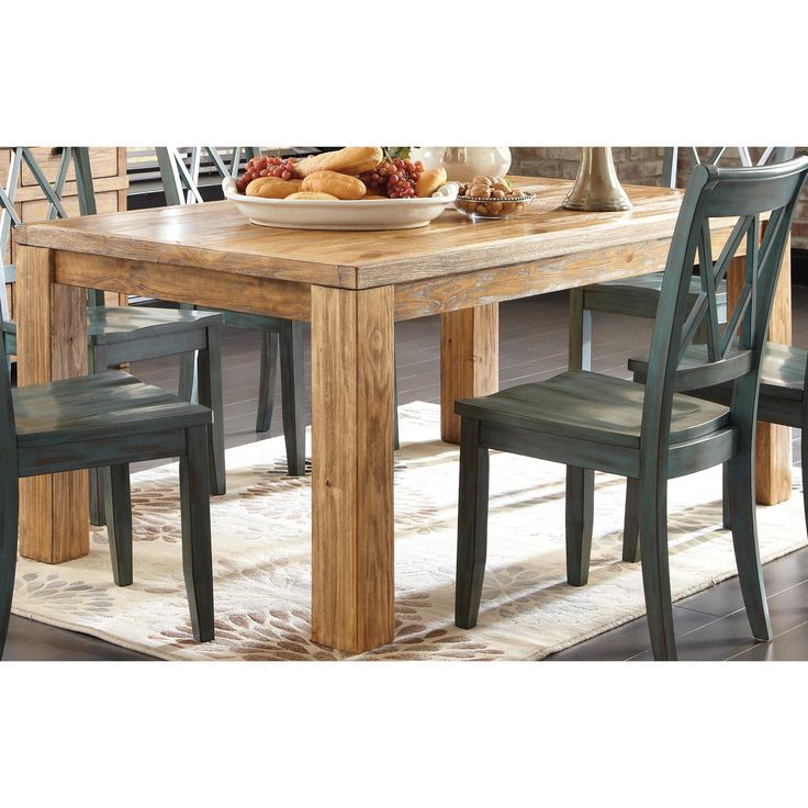 Signature Design By Ashley 39 Mestler 39 Rectangular Dining Room Table