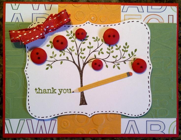 Teacher thank you note diy gift ideas teachers pinterest for Pinterest thank you gift ideas