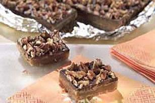 Chocolate-Toffee Bars recipe | Recipes | Pinterest