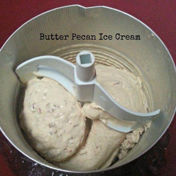 Butter Pecan Ice Cream | Color Inspiration: Butter Pecan | Pinterest