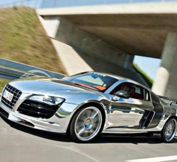 Chrome Audi R8 .