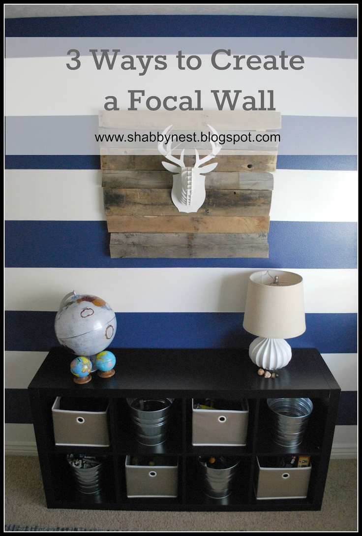 The Shabby Nest: Simple ways to create fabulous focal walls