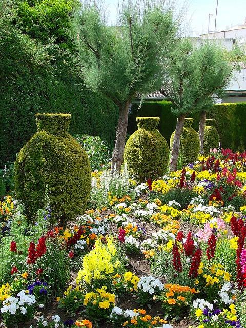 Jardins de l'Alcazar de los Reyes Cristianos Córdoba  Spain