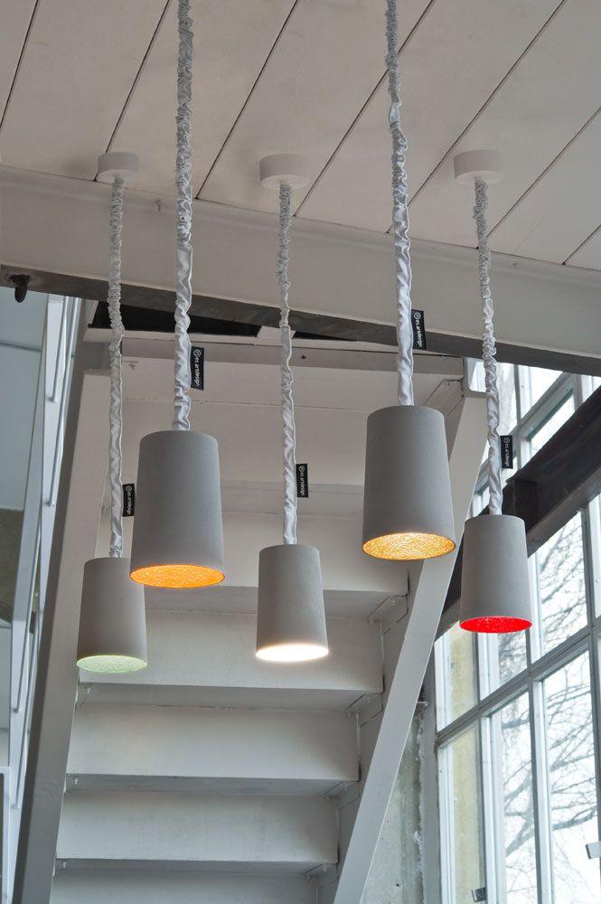 Paint, Cemento, #lampade a sospensione Lampade serie MATT, linea #C ...