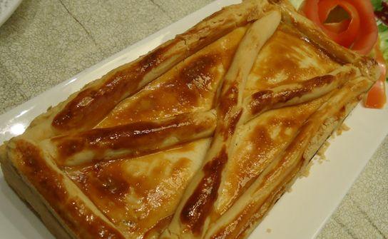 Torta de Frango com requeijão cremoso