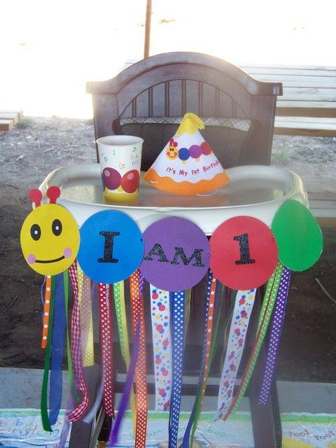 Baby einstein birthday party ideas for Baby einstein decoration