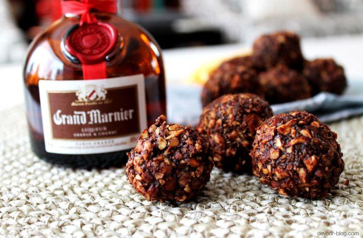 Chocolate Orange Almond Truffles | Candy | Pinterest