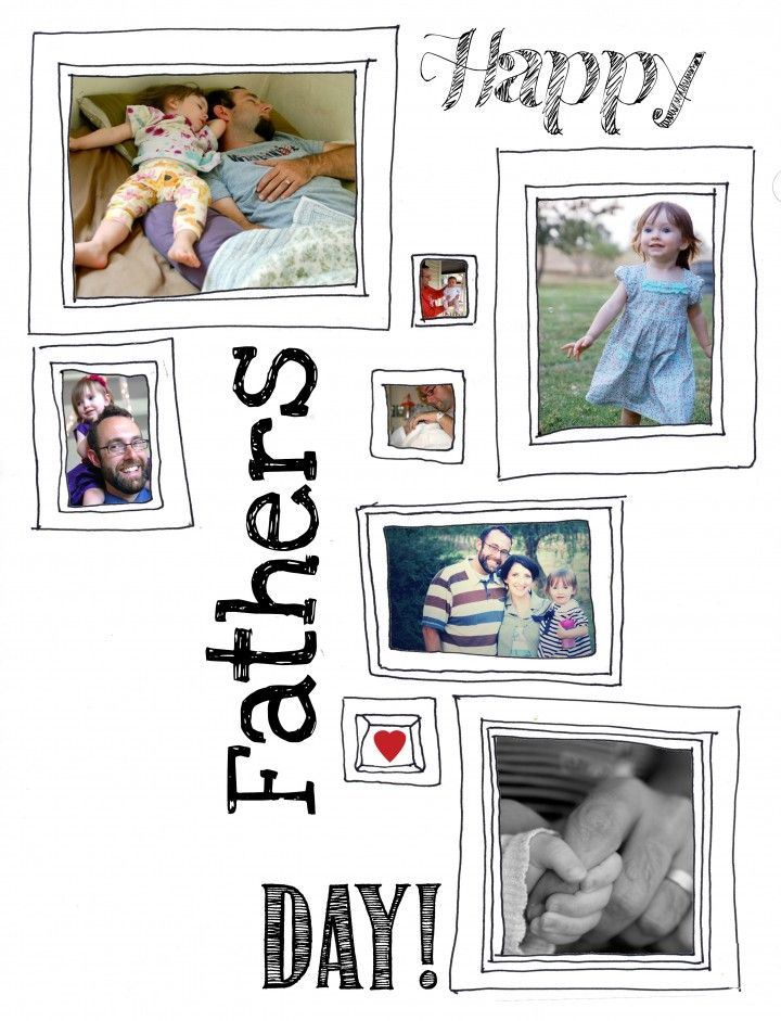 free father's day cards for husband to print