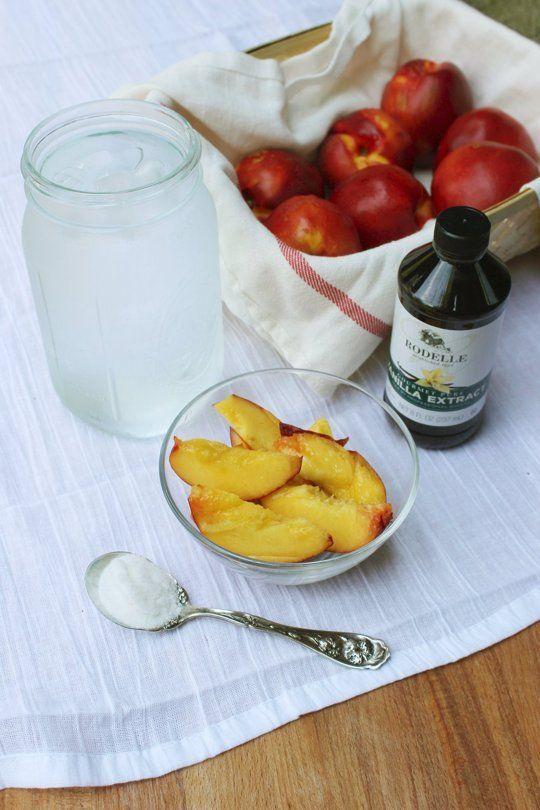 Recipe: Vanilla Nectarine Agua Fresca — Recipes from The Kitchn ...