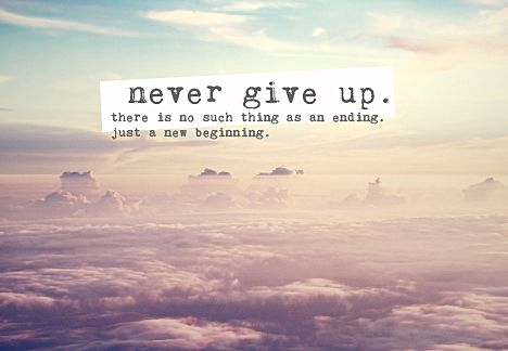never give up motivational quotes pinterest