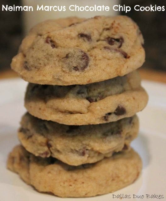 The Neiman Marcus Chocolate Chip Cookie is my all-time favorite cookie ...
