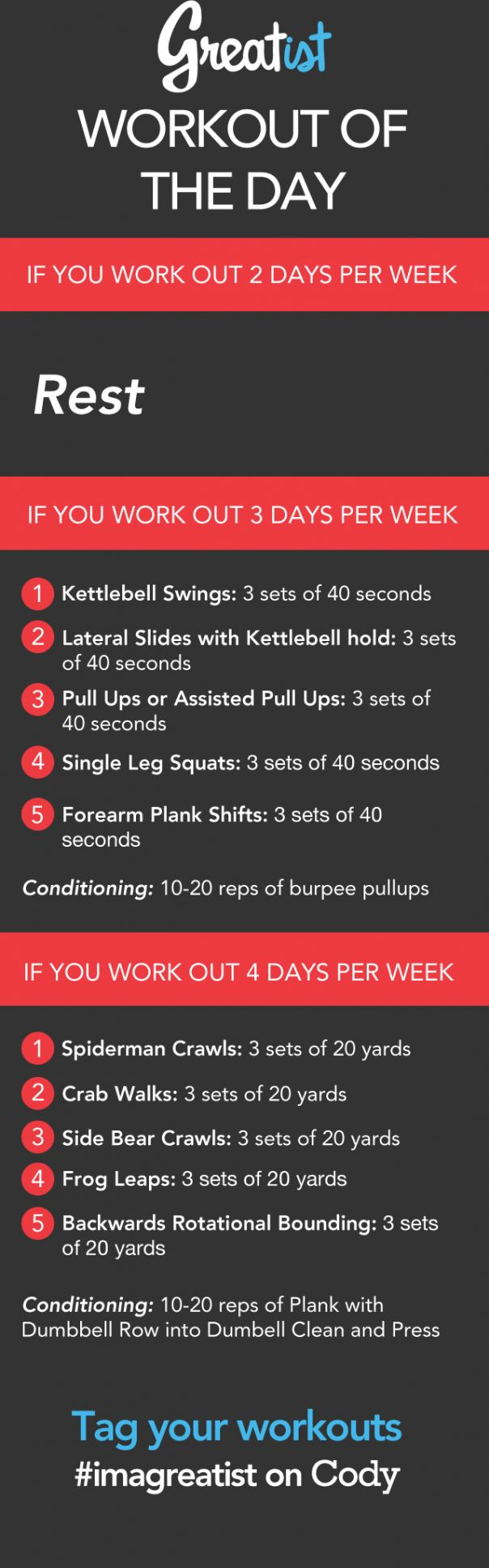 Greatist Workout of the Day: Friday, March 21st