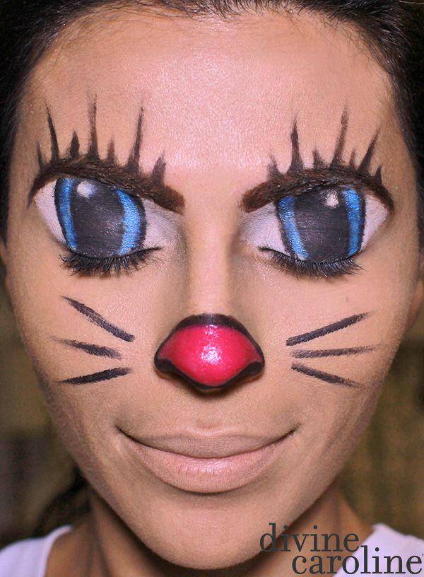 halloween cat makeup costume
