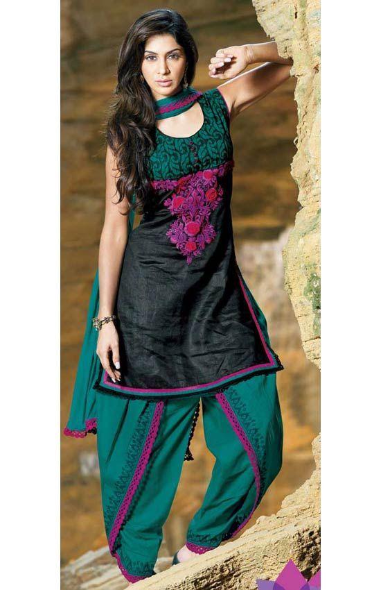 how to wear dhoti salwar