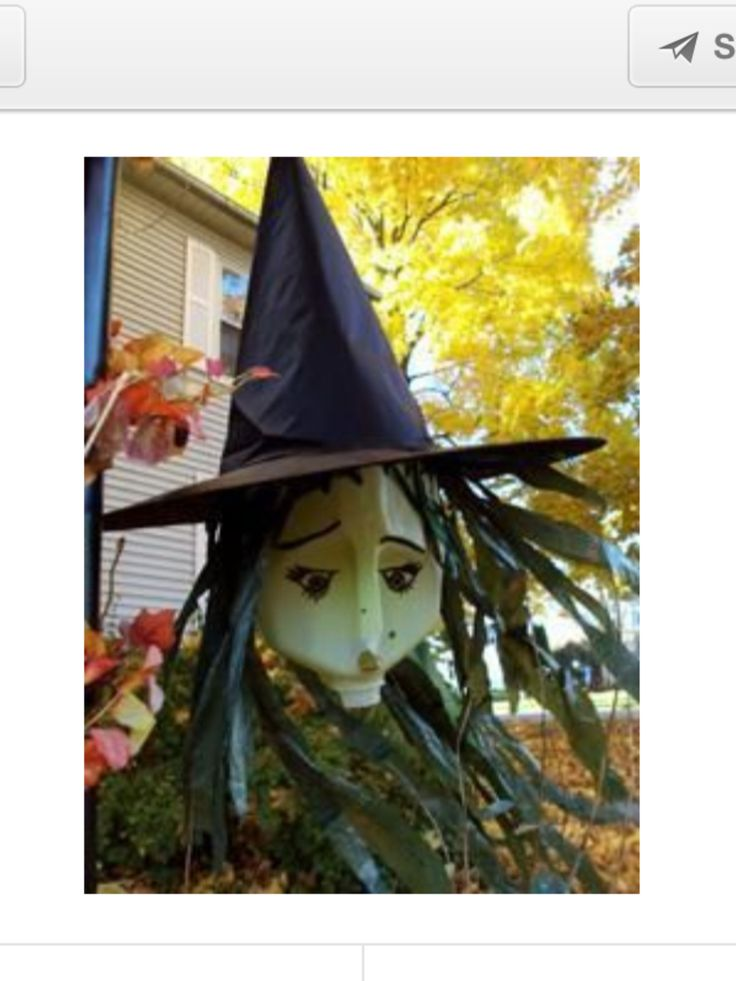 Halloween outdoor decor fall decor ideas pinterest for Pinterest halloween outdoor decorations
