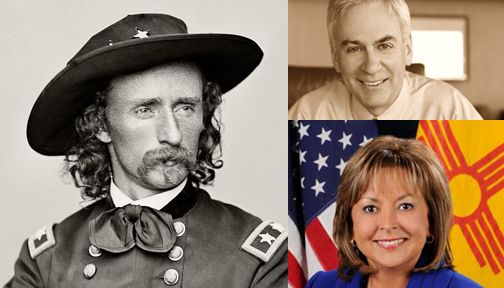RNC Official Says NM Governor Disrespected Custer by Meeting American Indians