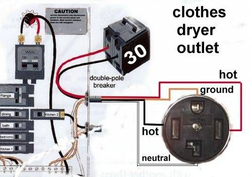 4 prong dryer outlet wiring diagram 4 image wiring wiring diagram for dryer outlet 4 prong jodebal com on 4 prong dryer outlet wiring diagram
