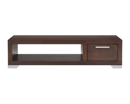 EQ3 Contemporary Dark Brown Coffee Table Bedroom Furniture Pinter