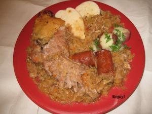 Polish Hunter Stew | Homegating Recipes | Pinterest