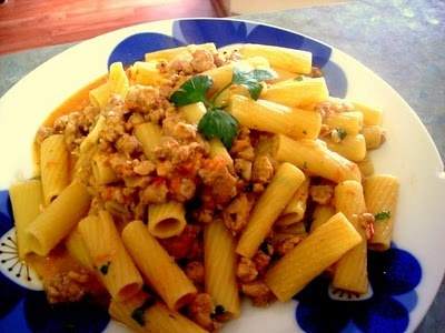 Rigatoni is Sausage Ragu | Great Everyday Meals | Pinterest