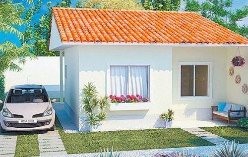 Blog nina matos fachadas de casas pequenas - Casas super pequenas ...