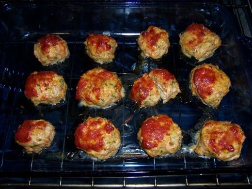 Baked Chicken Meatballs | Healthier recipes | Pinterest