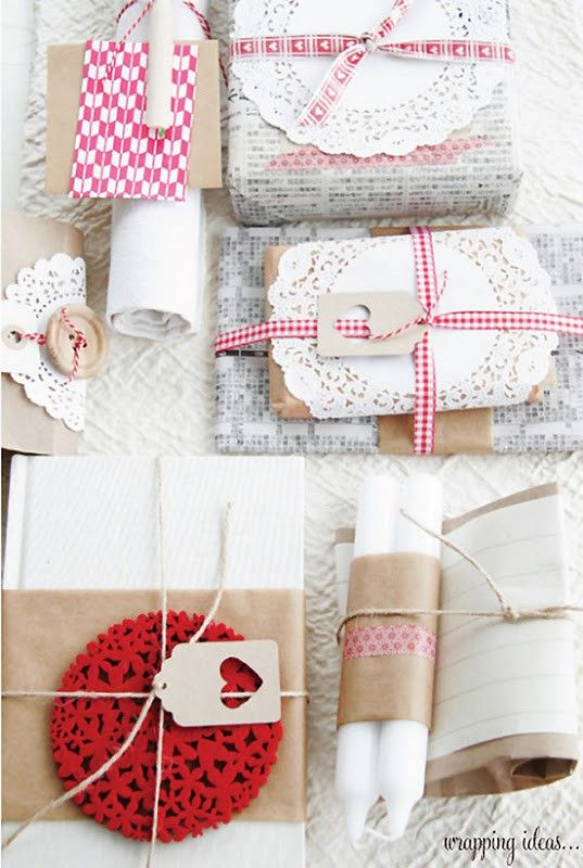 Ideas originales para envolver regalos de forma original.