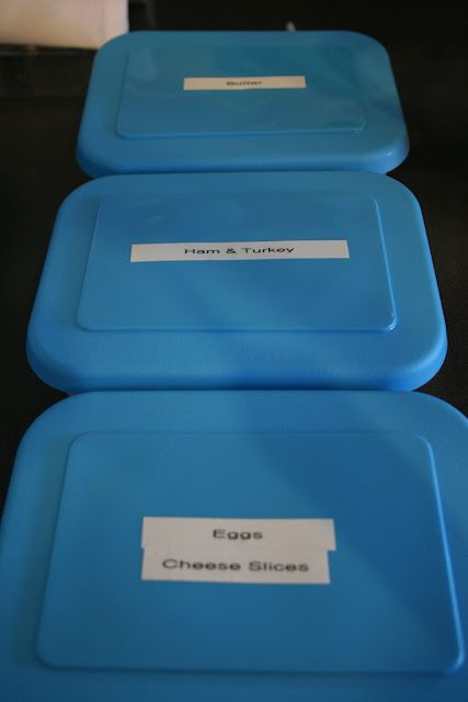 Camping recipes & tips on how to package the food so it's all ready to go.
