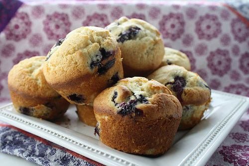 Buttermilk Blueberry Muffins | Who Doesn't Like Muffins | Pinterest