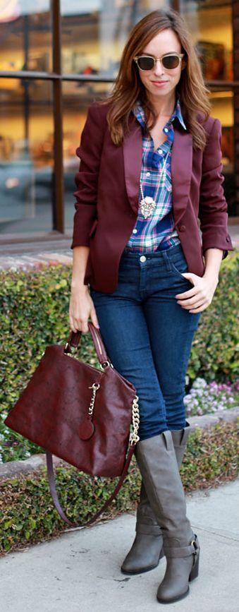 Claret Red Jacket
