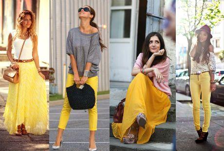 falda y pantalón