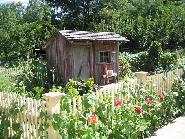 Rustic Backyard Sheds : rustic garden shed  Cute and Rustic Garden Sheds  Pinterest