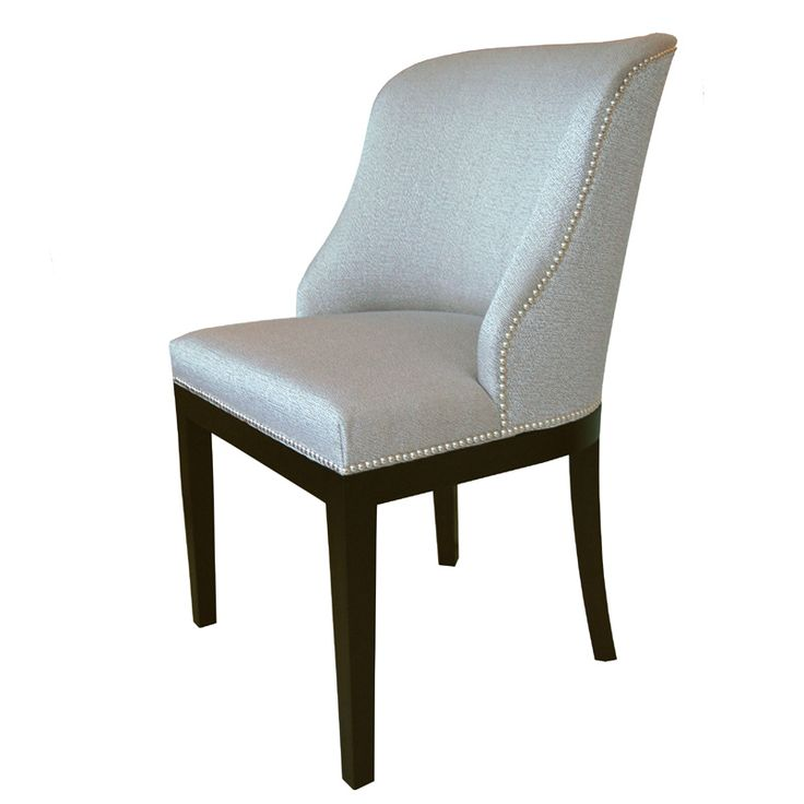 Wing back dining chair